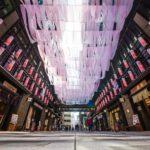 作品「桜フェスティバルin日本橋(Sakura Festival in Nihonbashi)」