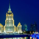 作品「新旧入り乱れるモスクワ (Old and New Moscow)」